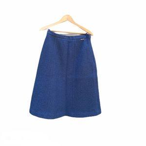 Geiger of Austria Boiled Wool Skirt A Line